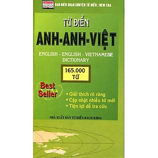 Từ Điển Anh - Anh - Việt (165000 Từ)