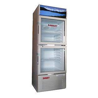 Tủ Mát 2 Cửa Sanaky VH-308W (240 Lít )