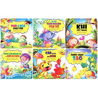 Combo Những Câu Chuyện Trẻ Em Yêu Thích Nhất - Trọn Bộ 6 Cuốn (Túi 1)