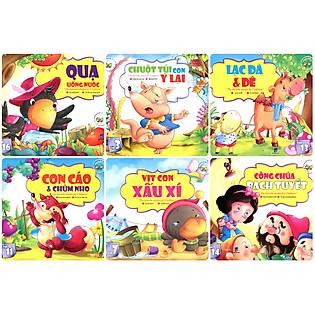 Combo Những Câu Chuyện Trẻ Em Yêu Thích Nhất - Trọn Bộ 6 Cuốn (Túi 2)