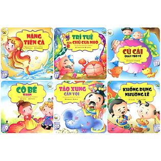 Combo Những Câu Chuyện Trẻ Em Yêu Thích Nhất - Trọn Bộ 6 Cuốn (Túi 3)
