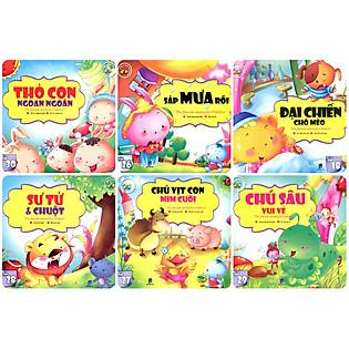 Combo Những Câu Chuyện Trẻ Em Yêu Thích Nhất - Trọn Bộ 6 Cuốn (Túi 5)