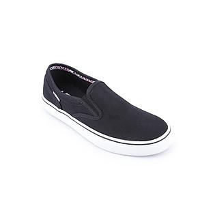 Giày Slip On Unisex Tuvi'S TVS-09-999 - Đen