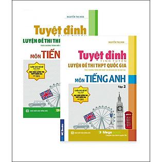 Tuyệt Đỉnh Luyện Đề Thi THPT Quốc Gia - Môn Tiếng Anh (Trọn Bộ 2 Tập) - Không CD