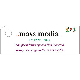 Flashcard The Media Best Quality (U19)