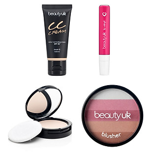 Bộ Trang Điểm Hồng Dạo Phố Beauty UK - Combo010