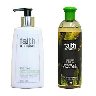 Bộ Sữa Tắm Giữ Ẩm Khoáng Chất Faith In Nature Tiết Kiệm 30% - Combo029