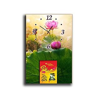 Tranh Đồng Hồ Suemall DHL140904 - Lịch Độc Đáo