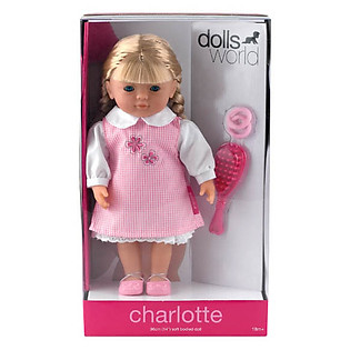 Em Bé Charlotte Tóc Bím Dolls World DW8111