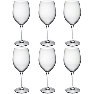 Bộ 06 Ly Thủy Tinh Premium Wine Bormioli Rocco 600Ml