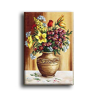 Tranh Canvas Vicdecor TCV0026 Hoa Nghệ Thuật 7