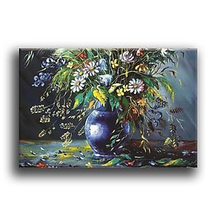 Tranh Canvas Vicdecor TCV0034 Bình Hoa Nghệ Thuật 1