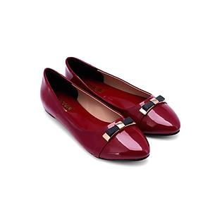 Giày Đế Bệt Nữ Huy Hoàng HH7001 - Đỏ