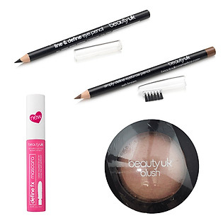 Bộ Trang Điểm Tông Tự Nhiên Beauty UK - Combo023
