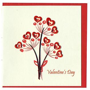 Thiệp Giấy Xoắn Việt Net - Love Valentine - Valentine's Day