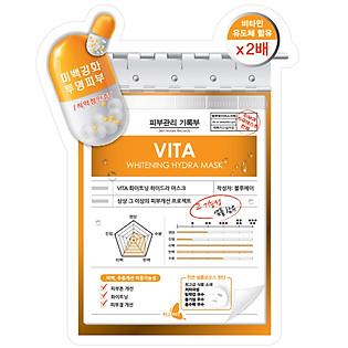 Mặt Nạ Vitamin Dưỡng Trắng Da Blumei Vita Whitening Hydra Mask 27G
