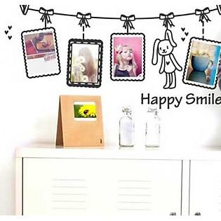 Decal Dán Tường Ninewall Happy Smile FF027