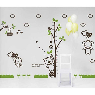 Decal Dán Tường Ninewall Nice To Meet U BR008