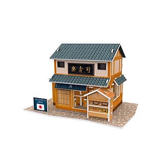 Mô Hình Giấy Cubic Fun: Sushi Restaurant [W3104h]