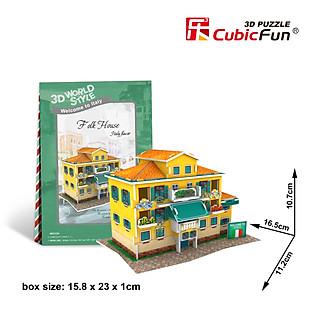 Mô Hình Giấy Cubic Fun: Folk House [W3113h]