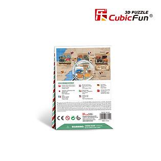 Mô Hình Giấy Cubic Fun: Wharf [W3114h]