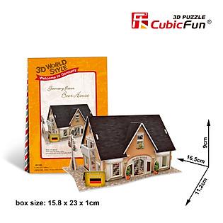 Mô Hình Giấy Cubic Fun: Beer House [W3126h]