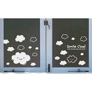 Decal Dán Tường Ninewall Smile Cloud BS011