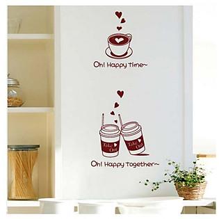 Decal Dán Tường Ninewall Happy Together W71