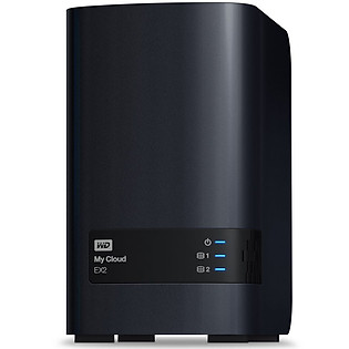 Ổ Cứng Mạng WD My Cloud EX2 12TB Charcoal Multi-City Asia