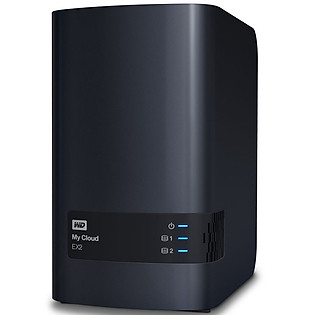 Ổ Cứng Mạng WD My Cloud EX2 4TB Charcoal Multi-City Asia