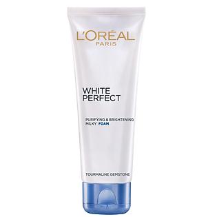 Sữa Rửa Mặt Trắng Da L'oreal White Perfect 100Ml