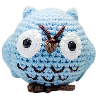 Cú Mèo Hedwee Owl WT-010BLU-M Bobicraft (10 Cm X 10 Cm X 7 Cm)