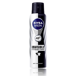 Xịt Khử Mùi Nivea Black & White Cho Nam 150Ml - 82241