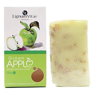 Xà Bông Thiên Nhiên Tẩy Tế Bào Chết - Táo Xanh Lignum Vitae Green Apple (100G) - 0002-Z