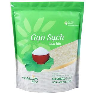Gạo Sạch Hoa Lúa (Nhãn Xanh) - 2Kg