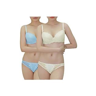 Combo 2 Áo Ngực Nữ Relax RBM009 - Xanh Ngọc Và Vàng Nhạt