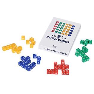 Trò Chơi Ô Chữ Học Tiếng Anh  Baxbo Games Xoom Cubes (Set A)