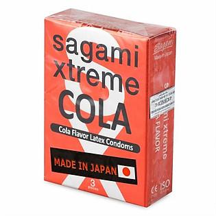 Bao Cao Su Sagami Extreme Cola - Hộp 3 Bao