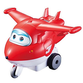 Máy Bay Bánh Đà Super Wings - Jett Tia Chớp YW710110