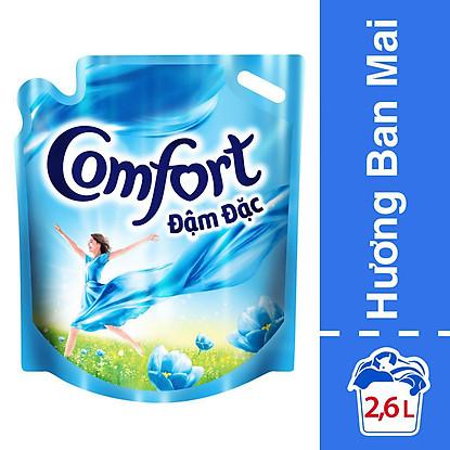 Nước Xả Vải Comfort Đậm Đặc Hương Ban Mai 2.6L – 67145289 – tốt nhất
