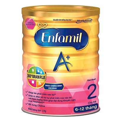 Sữa Enfamil A+2 360° Brain Plus Với Inulin & GOS (1700g)