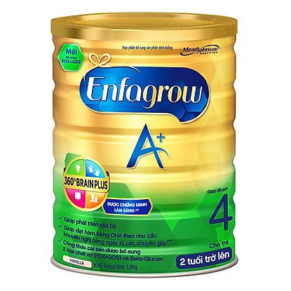 Sữa Enfagrow A+4 360° Brain Plus Với PDX & GOS (1800g)