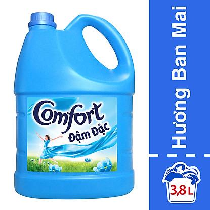 Nước Xả Vải Comfort 1 Lần Xả Hương Ban Mai Chai 3.8L Sang trọng