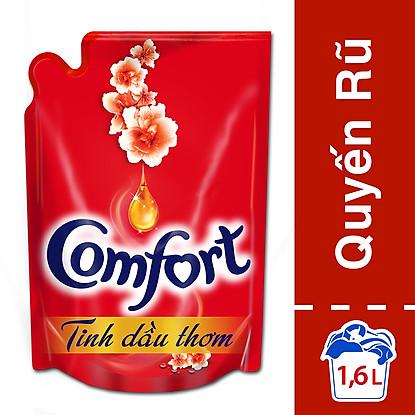 Đặt mua Comfort Đậm Đặc 1 Lần Xả Tinh Dầu Thơm Quyến Rũ 21118880 (1.6L)