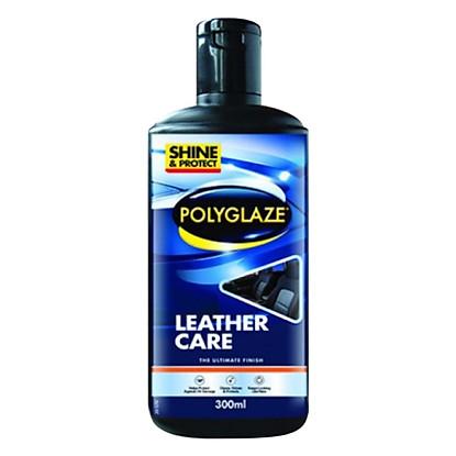 Dung Dịch Bảo Dưỡng Da Bọc Nệm Xe Polyglaze Leather Care PLC300 (300ml...