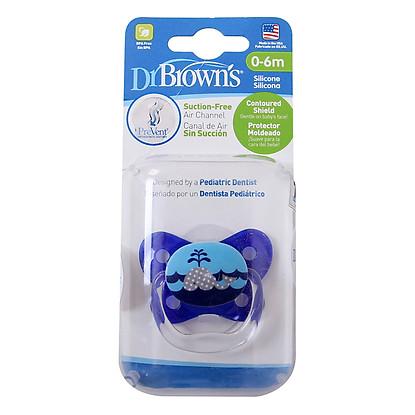 Ty Ngậm Prevent Dr.Brown's Level 1 - Màu Xanh