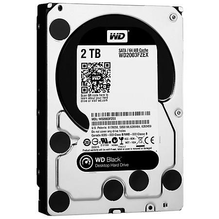 Ổ Cứng Trong PC WD 2TB (64MB) 7200rpm 3.5″ Black™
