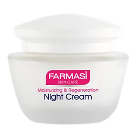 Kem Dưỡng Ban Đêm Cho Da Khô Và Da Nhạy Cảm Farmasi Night Cream For Dry Skin Farmasi 1804BAS03 (50ml)