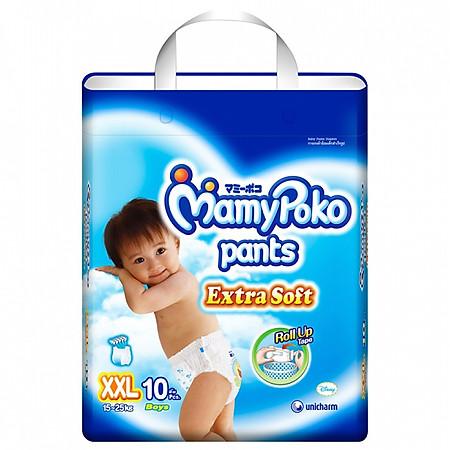 Tã Quần Bé Trai Mamypoko Gói Nhỏ XXL10