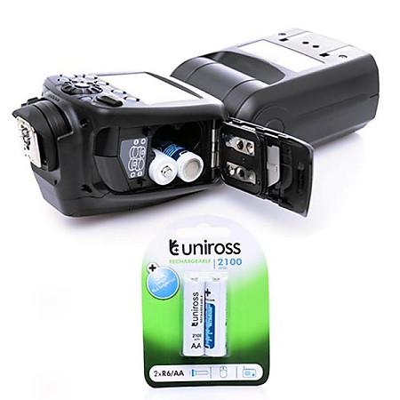 Vỉ 2 Pin Sạc Uniross 2100mAh